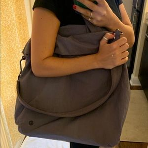 Lululemon Purple Athletic Duffle